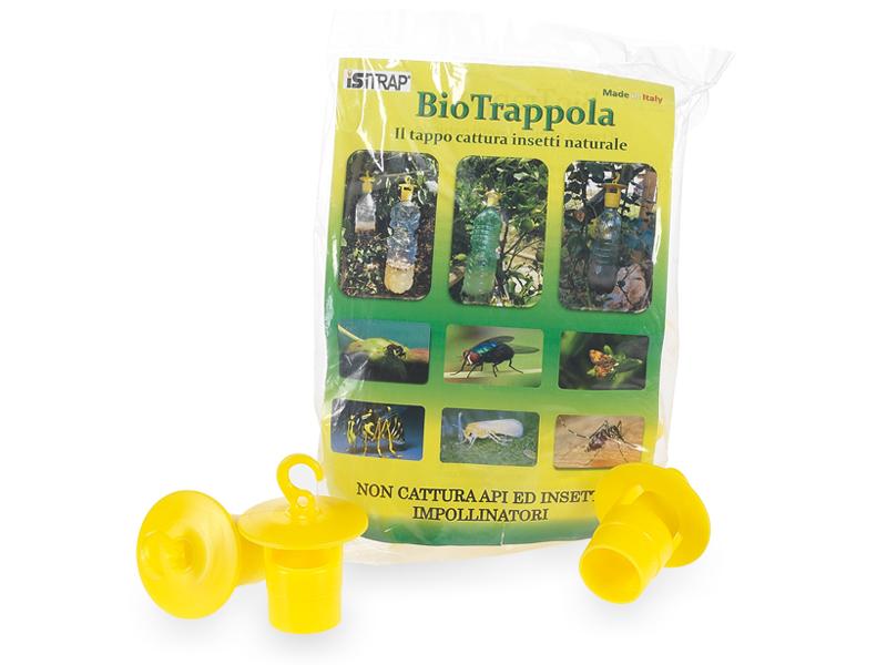 Tappo cattura insetti: confezione da 9 pz.
